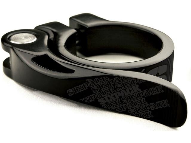 Sixpack Menace Sattelklemme Ø31,8mm stealth-black